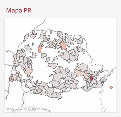 Quarentena Solidária lança mapa de dados sobre COVID19 no Paraná